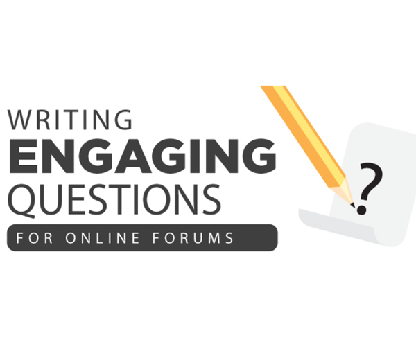 Writing Engaging Discussion Questions
