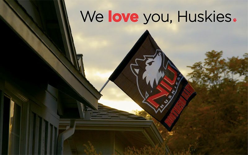 We love you, Huskies.