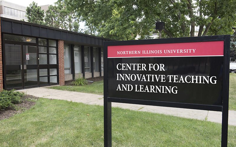 Center for Innovative Teaching and Learning building sign
