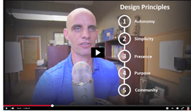 Dr Wesch and his design principles
