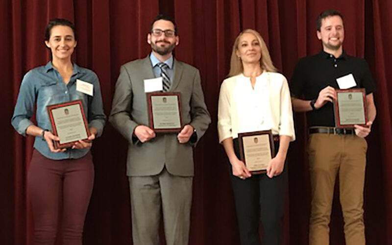 recipients of 2019 Outstanding TA Awards